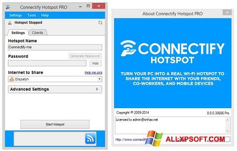 Ekran görüntüsü Connectify Hotspot Windows XP
