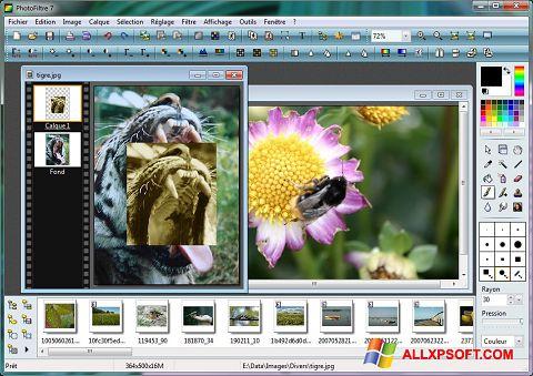 Ekran görüntüsü PhotoFiltre Windows XP
