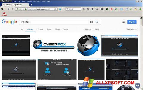 Ekran görüntüsü Cyberfox Windows XP