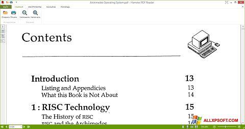 Ekran görüntüsü Hamster PDF Reader Windows XP