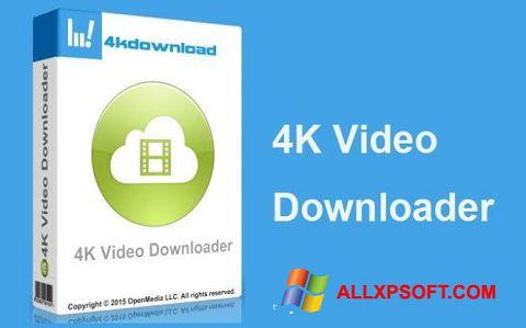 Ekran görüntüsü 4K Video Downloader Windows XP