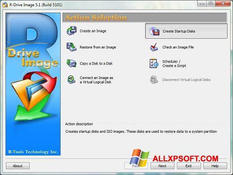 Ekran görüntüsü R-Drive Image Windows XP