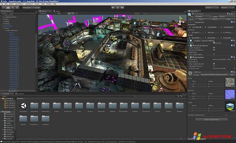 Ekran görüntüsü Unity 3D Windows XP