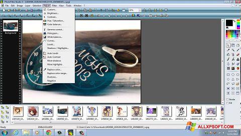 Ekran görüntüsü PhotoFiltre Studio X Windows XP