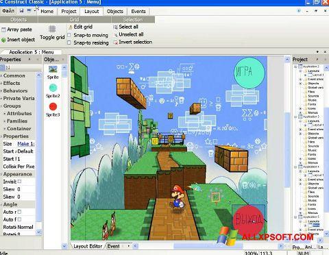 Ekran görüntüsü Construct Classic Windows XP