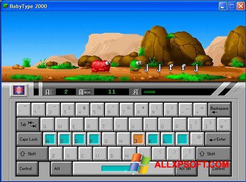 Ekran görüntüsü BabyType Windows XP