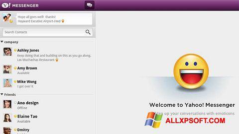 Ekran görüntüsü Yahoo! Messenger Windows XP