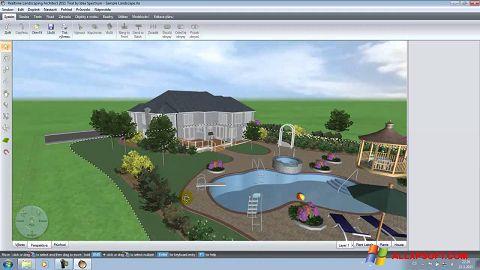 Ekran görüntüsü Realtime Landscaping Architect Windows XP