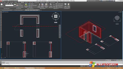 Ekran görüntüsü AutoCAD Architecture Windows XP