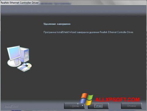 Ekran görüntüsü Realtek Ethernet Controller Driver Windows XP