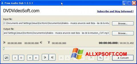 Ekran görüntüsü Free Audio Dub Windows XP
