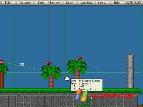 Ekran görüntüsü Game Editor Windows XP