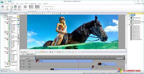 Ekran görüntüsü Free Video Editor Windows XP