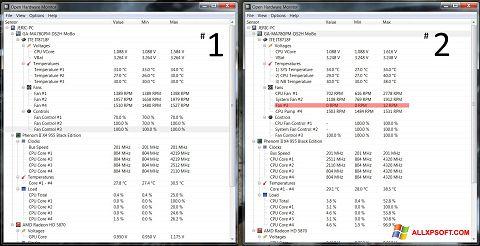 Ekran görüntüsü Open Hardware Monitor Windows XP