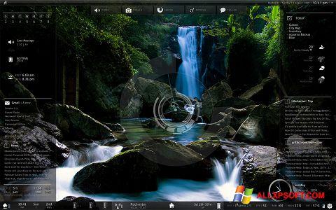 Ekran görüntüsü Rainmeter Windows XP