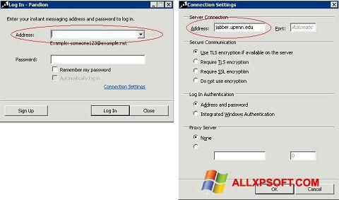 Ekran görüntüsü Pandion Windows XP
