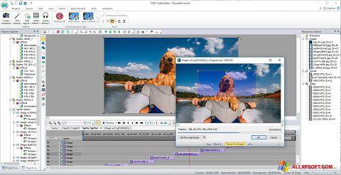 Ekran görüntüsü VSDC Free Video Editor Windows XP