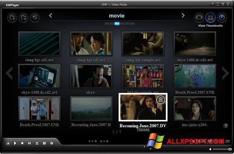 Ekran görüntüsü KMPlayer Windows XP
