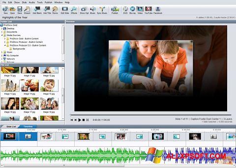 Ekran görüntüsü ProShow Gold Windows XP