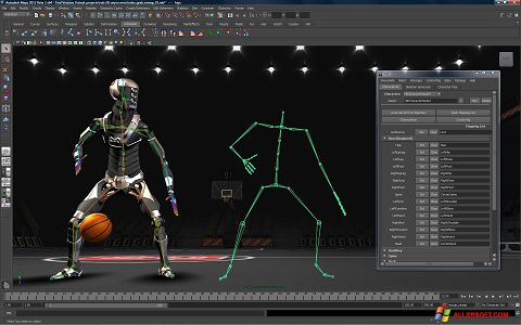 Ekran görüntüsü Autodesk Maya Windows XP