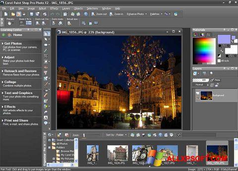 Ekran görüntüsü PaintShop Pro Windows XP