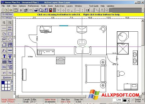 Ekran görüntüsü Home Plan Pro Windows XP