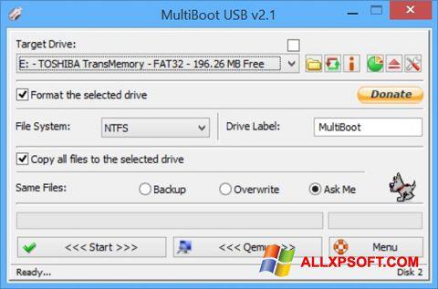 Ekran görüntüsü Multi Boot USB Windows XP