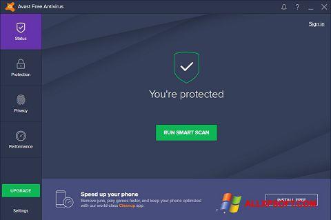 Ekran görüntüsü Avast Free Antivirus Windows XP