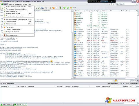Ekran görüntüsü FlylinkDC++ Windows XP