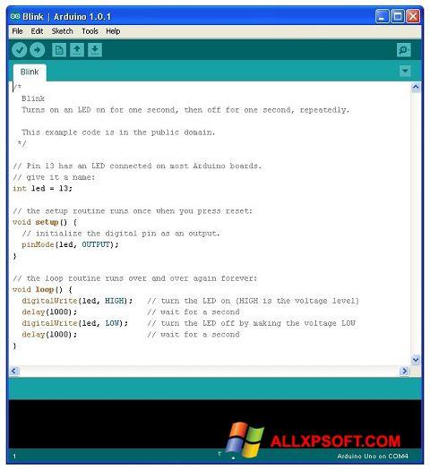 Ekran görüntüsü Arduino Windows XP