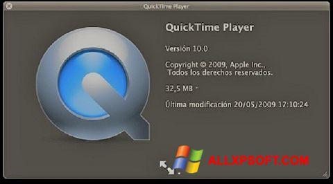 Ekran görüntüsü QuickTime Windows XP