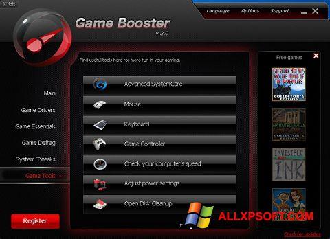 Ekran görüntüsü Game Booster Windows XP