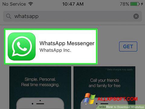 Ekran görüntüsü WhatsApp Windows XP