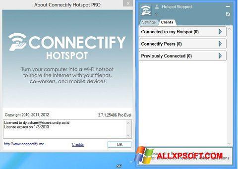 Ekran görüntüsü Connectify Pro Windows XP