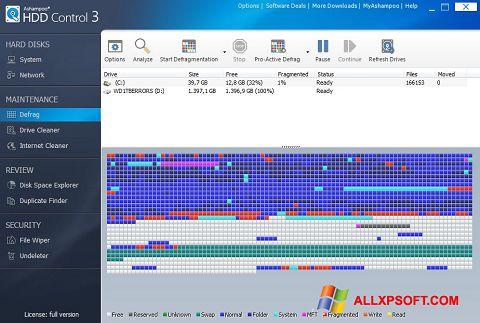 Ekran görüntüsü Ashampoo HDD Control Windows XP