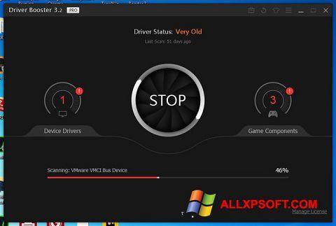 Ekran görüntüsü Driver Booster Windows XP