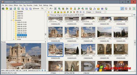 Ekran görüntüsü FastStone Image Viewer Windows XP