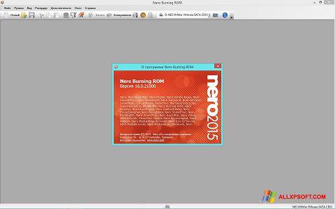 Ekran görüntüsü Nero Windows XP