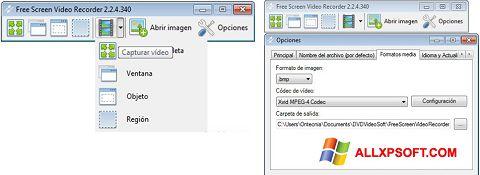 Ekran görüntüsü Free Screen Video Recorder Windows XP