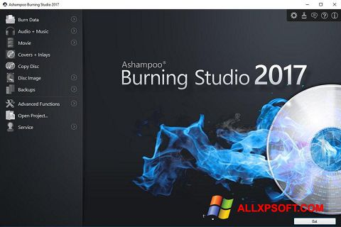 Ekran görüntüsü Ashampoo Burning Studio Windows XP