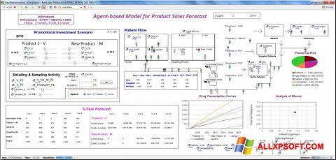 Ekran görüntüsü AnyLogic Windows XP
