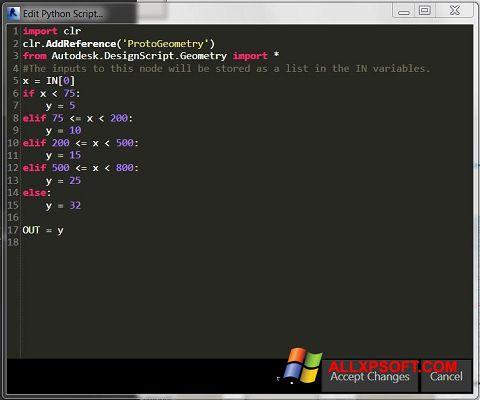 Ekran görüntüsü Python Windows XP