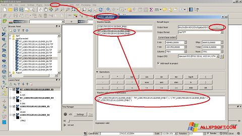 Ekran görüntüsü QGIS Windows XP